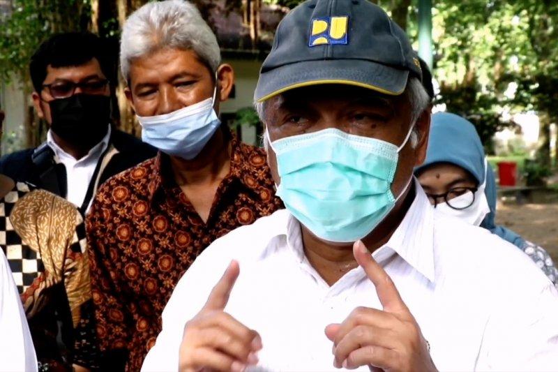 Ke Solo, Menteri PUPR minta percepat proyek Pasar Legi