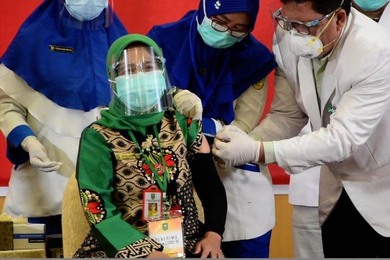 Kekebalan komunal di Riau tercapai jika vaksinasi sudah 70%