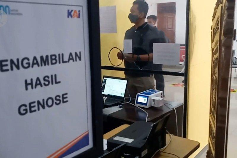 Stasiun Madiun gunakan tes cepat GeNose ke calon penumpang