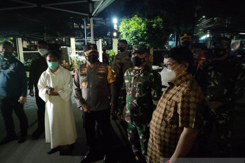 Kapolda Metro-Pangdam Jaya juga cek pengamanan Gereja Theresia