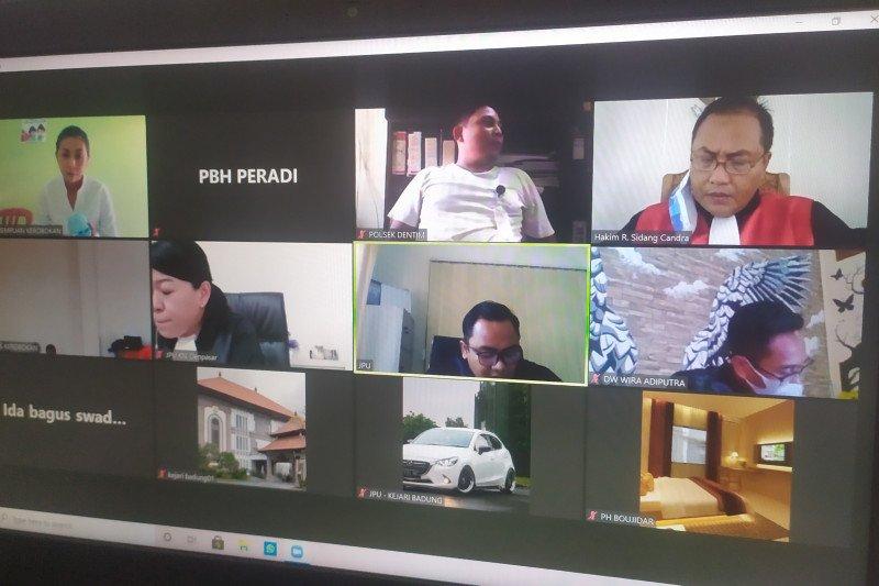 Pengedar sabu divonis 10 tahun penjara oleh PN Denpasar