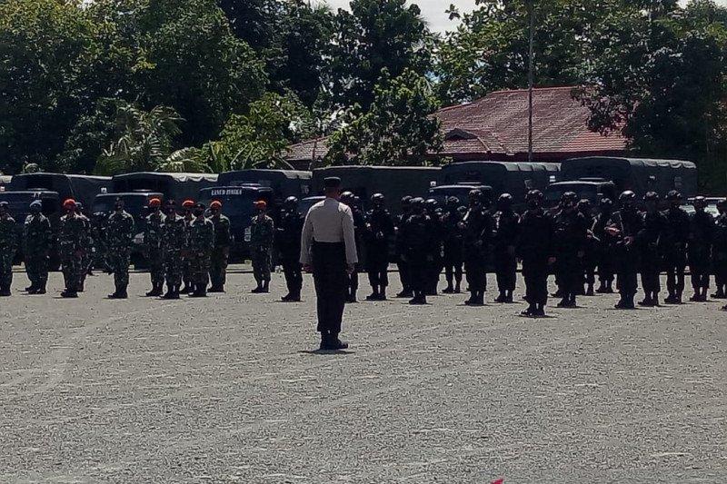1.000 personel TNI-Polri dan Ormas amankan Paskah di Timika