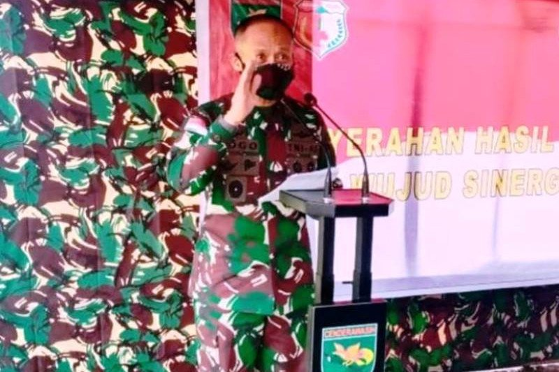 Pangdam XVII: Prajurit Tantama TNI AD jaga loyalitas kepada NKRI