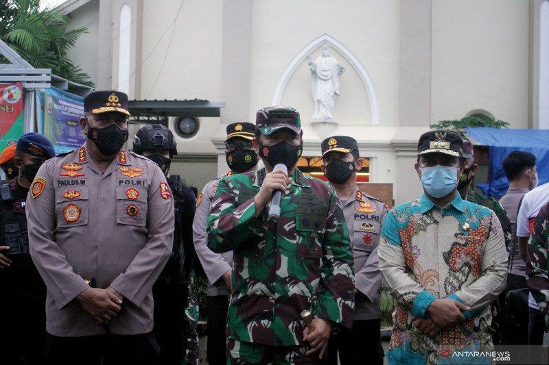 Panglima TNI : Bangun Poskotis cegah gerakan teroris