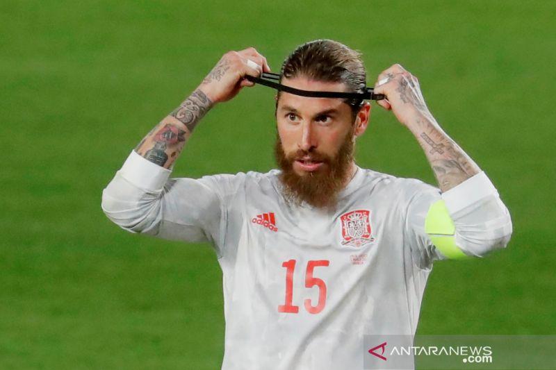 Real Madrid dipastikan tanpa Ramos lawan Liverpool dan Barcelona