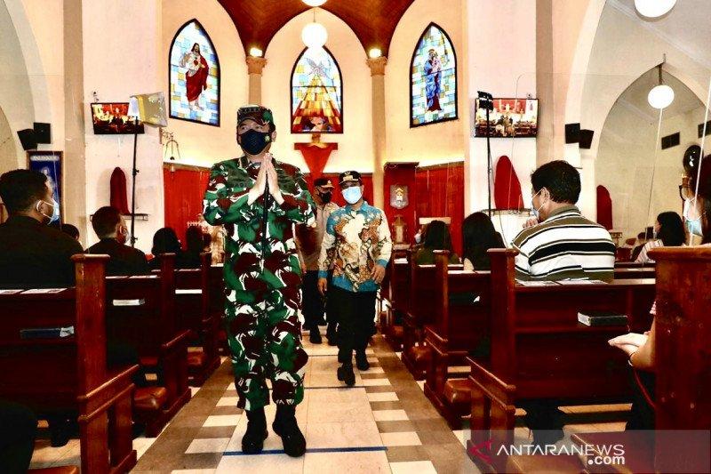 1.001 tentara siaga bantu polisi amankan Paskah di Makassar