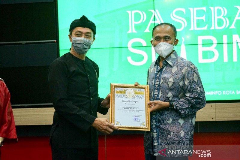 Pemkot Bogor berikan penghargaan kepada Kepala BNN periode 2017-2020