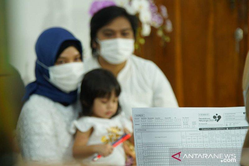 BKKBN mendata 77,9 juta keluarga dari April hingga Mei 2021