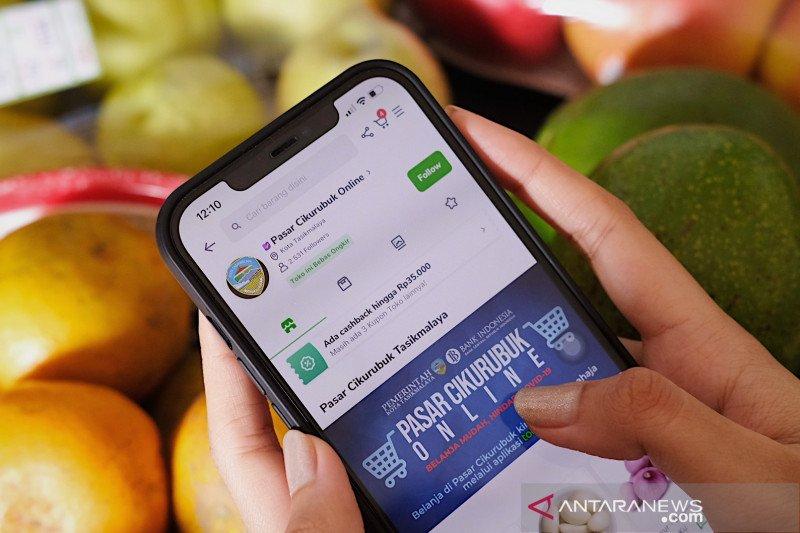 Penjualan di Pasar rakyat Tasikmalaya naik 4 kali berkat e-commerce