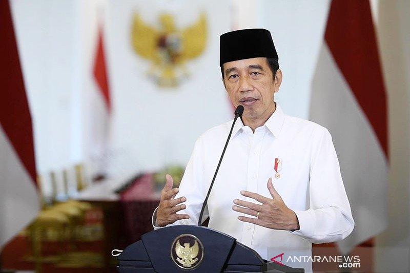Presiden Jokowi teken Keppres cuti bersama 2 hari untuk ASN di 2021