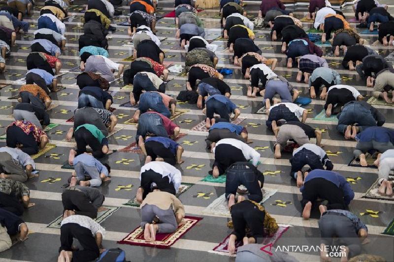 Banda Aceh serukan prokes saat beribadah selama Ramadhan