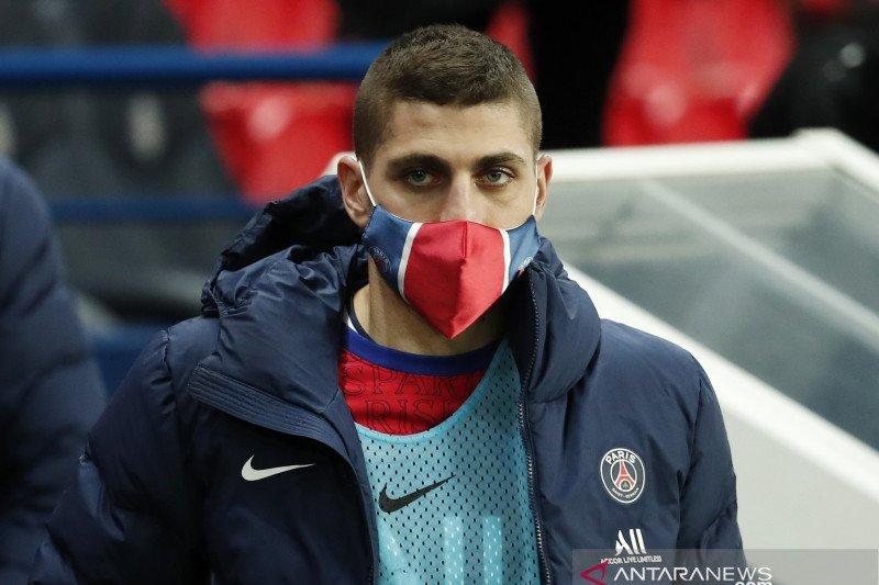 Verratti absen saat PSG hadapi Bayern lantaran terpapar COVID-19