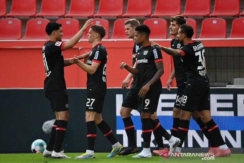 Leverkusen menang dalam pertandingan perdana bersama Hannes Wolf