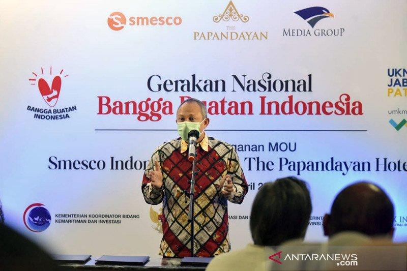 Pemprov Jabar gandeng SMESCO bawa produk UMKM masuk hotel berbintang