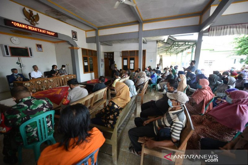 Pertamina mulai bayar ganti rugi rumah warga di Balongan