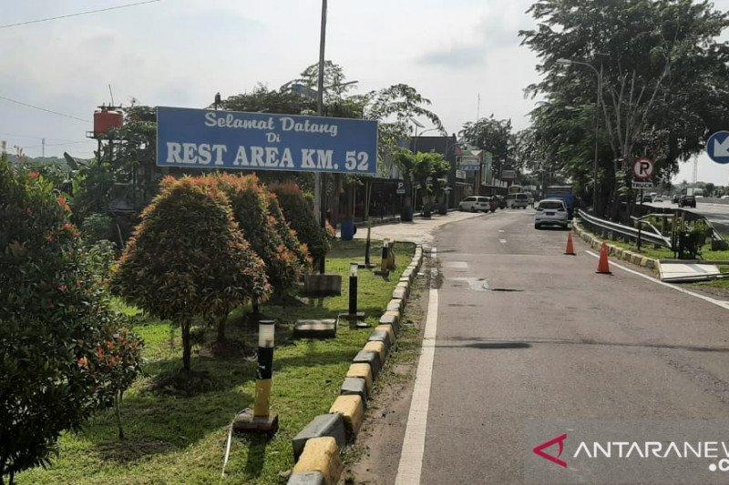 Rest Area Km 52 Jalan Tol Jakarta-Cikampek ditutup atasi lonjakan arus