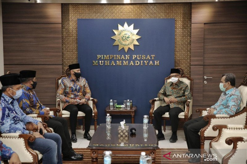 AHY dan Ketua Umum PP Muhammadiyah bertemu bahas empat hal