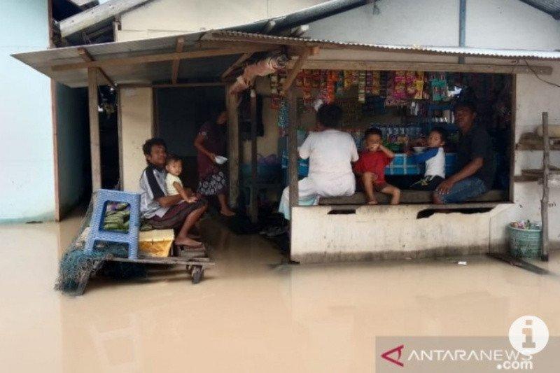 Rumah milik 65 Kepala Keluarga di Tapin terendam banjir
