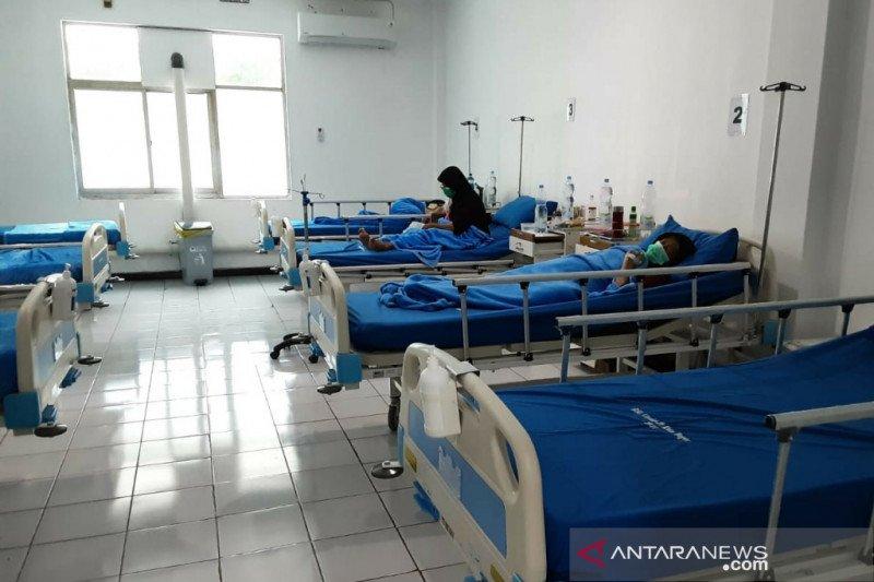 Pasien COVID-19 di RSL Kota Bogor terus menurun