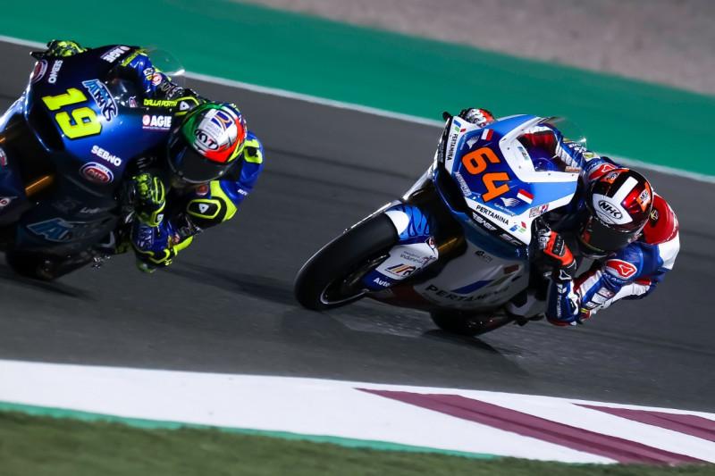 Duet tim Pertamina Mandalika SAG mengklaim P15 dan P21 kualifikasi GP Doha