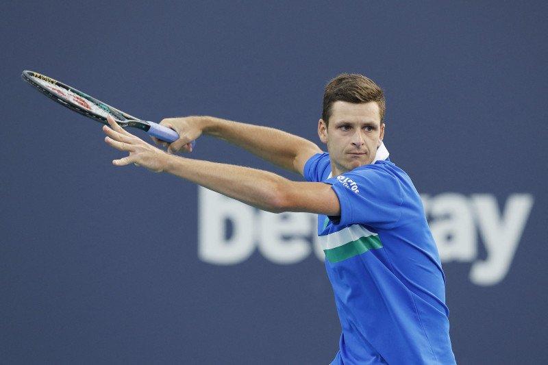 Hurkacz tantang Sinner dalam perebutan piala ATP 1000 perdana di Miami