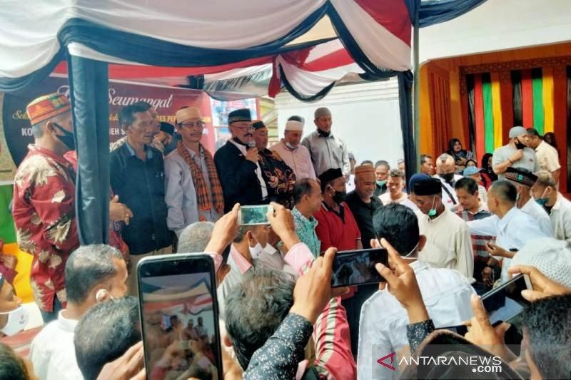 Eks GAM Libya gelar doa bersama di Aceh Utara jelang Ramadhan