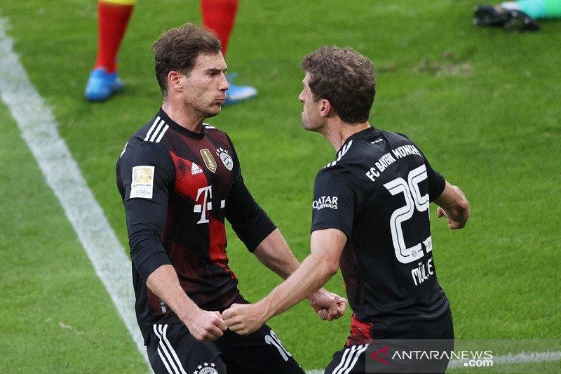 Bayern tegaskan posisi puncak selepas menang di Leipzig