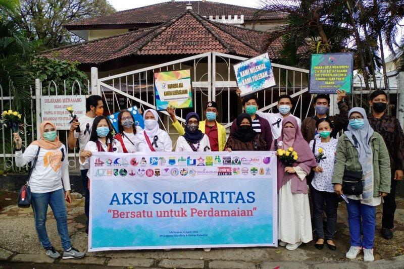 39 ormas gelar Aksi Bersatu pada peringatan Paskah di Makassar