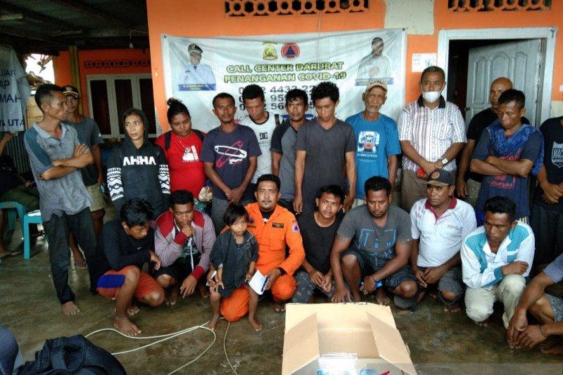 KM Anugerah Saputra tenggelam di perairan Banggai Laut