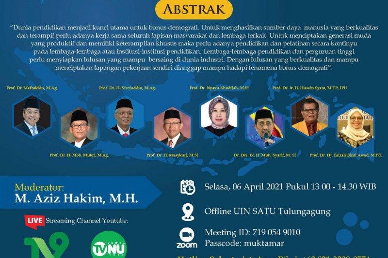 Sejumlah tokoh nasional hadiri Muktamar Pemikiran di UIN Tulungagung