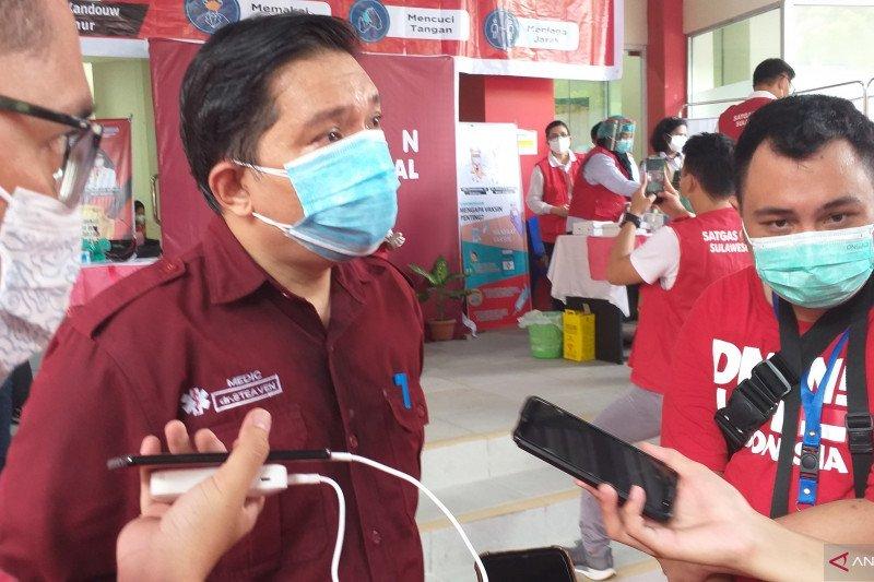 Angka kesembuhan pasien COVID-19 di Sulut capai 82,38 persen