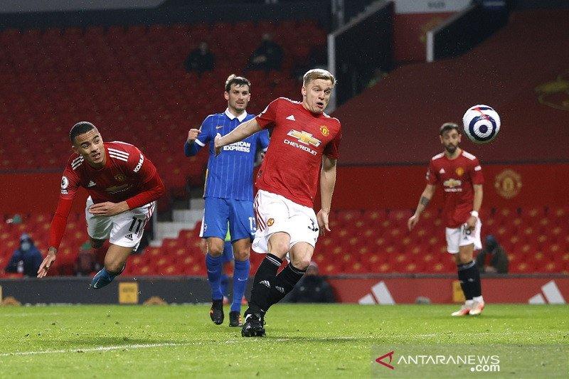 Rahsford dan Greenwood antar Manchester United tundukkan Brighton