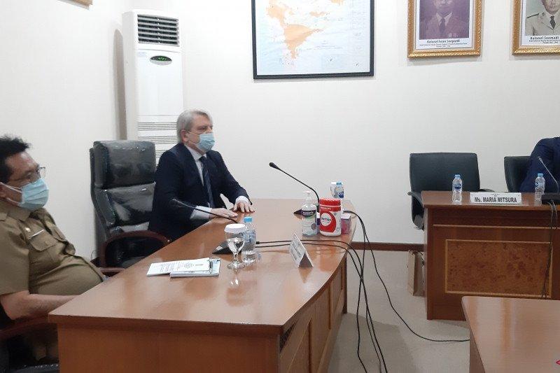 Perwakilan perdagangan Federasi Rusia lirik potensi PLTA Kalbar