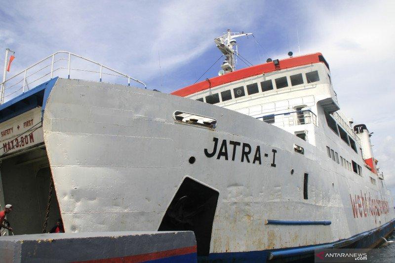 Kapal ASDP Kupang  yang baru diresmikan tenggelam di Bolok