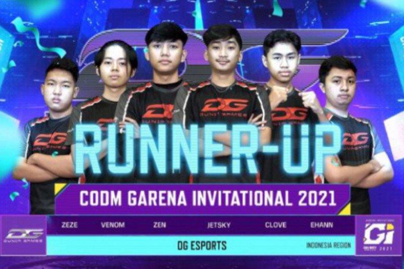 Indonesia bawa pulang gelar runner up CODM Garena Invitational 2021