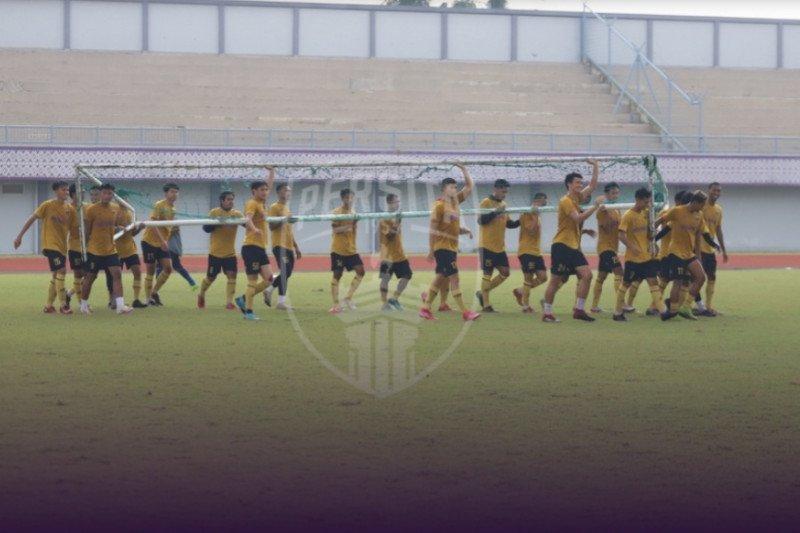 Persita Tangerang liburkan tim selama dua pekan
