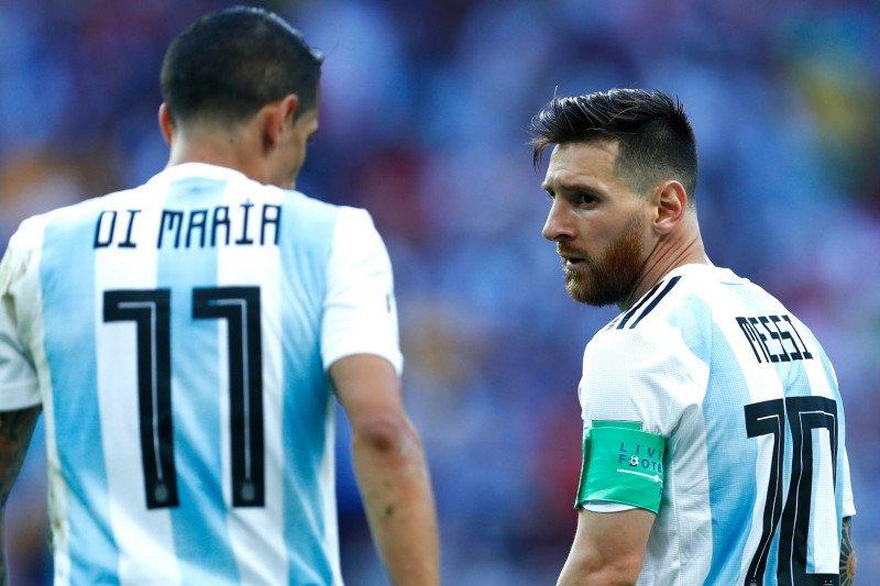 Di Maria: akan sangat menyenangkan bila bisa main dengan Messi di PSG