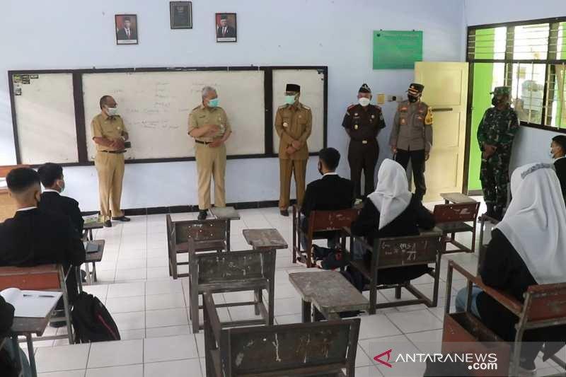 Empat sekolah di Temanggung uji coba pembelajaran tatap muka
