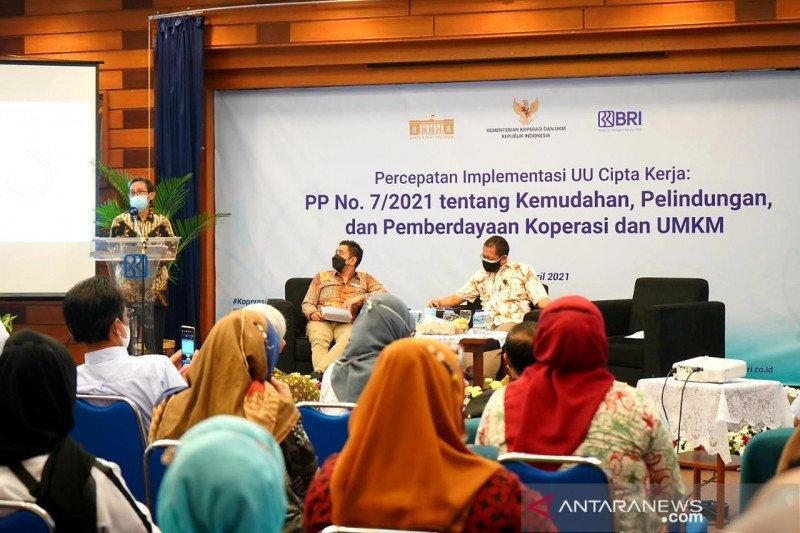 KemenkopUKM ajak UMKM Bandung manfaatkan kemudahan PP Nomor 7/2021