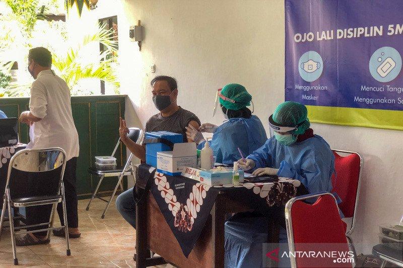 Yogyakarta mulai lakukan vaksinasi untuk tokoh masyarakat dan agama