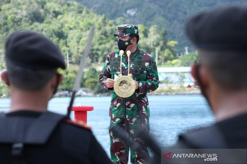 Panglima TNI: KRI Alugoro-405 wujud mitra strategis Indonesia-Korsel