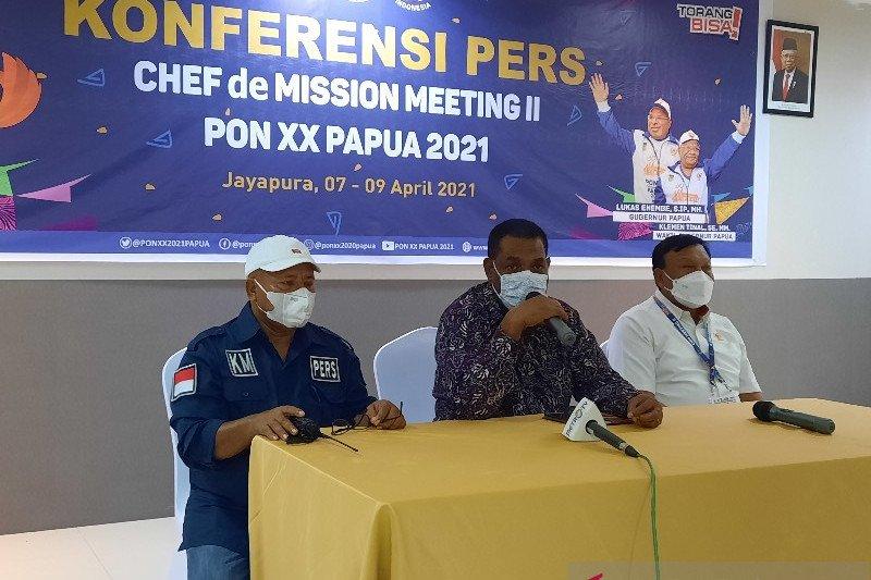 NTT tidak ikut CdM Meeting II PON XX Papua 2021