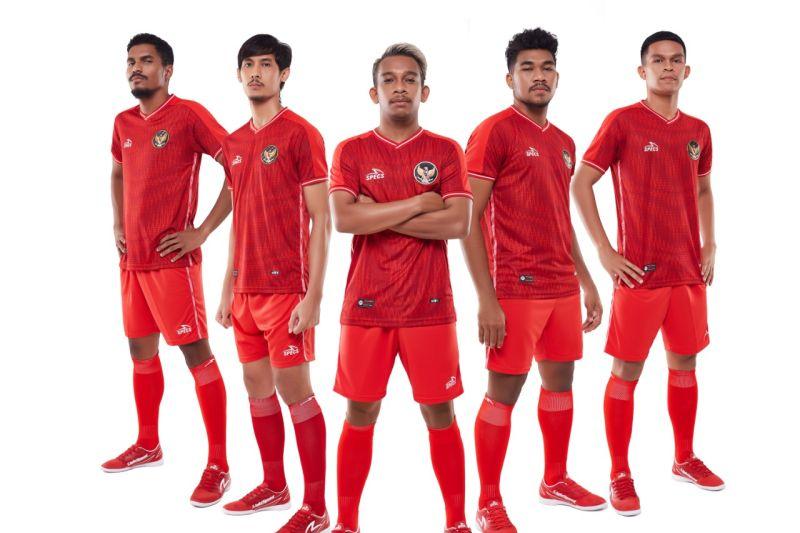Specs luncurkan kostum baru Timnas Futsal Indonesia