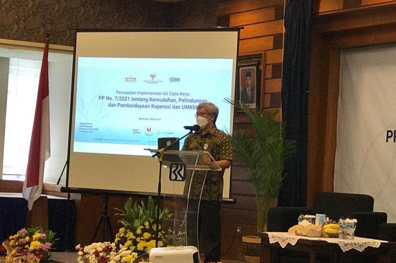 KSP paparkan PP Nomor 7/2021 permudah pengembangan koperasi dan UMKM