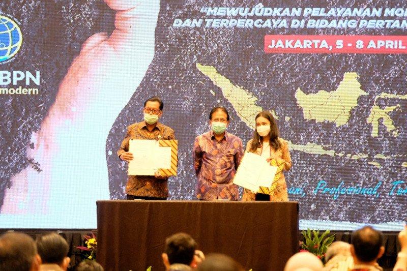 Terapkan solusi digital, Peruri teken MoU dengan Kementerian ATR/BPN