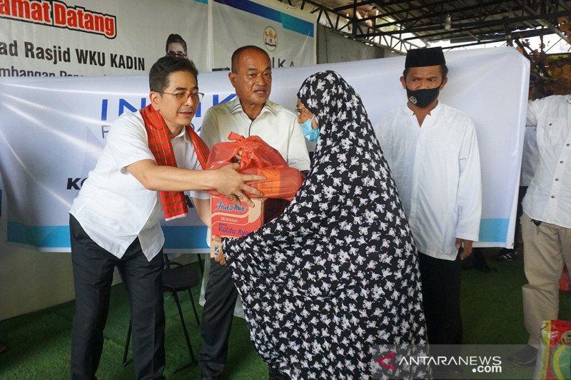 Waketum Kadin serahkan bantuan kepada penyintas gempa bumi di Mamuju