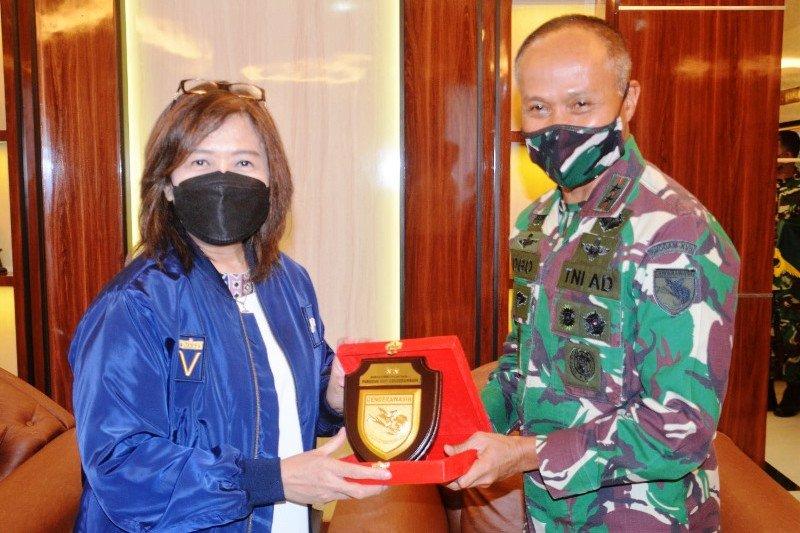 Deputi V KSP temui Pangdam Cenderawasih bahas pengamanan PON XX