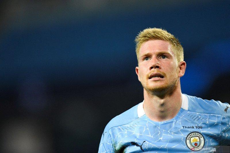 Kevin De Bruyne perpanjang kontrak di Manchester City hingga 2025
