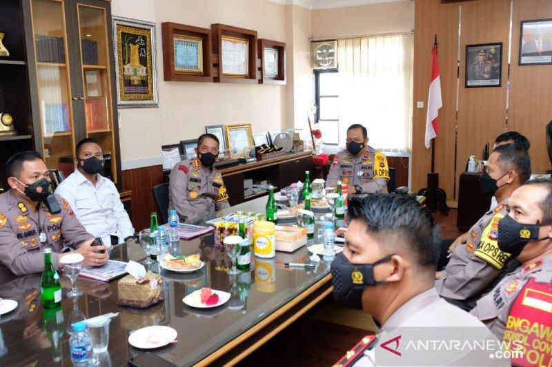 Kapolda Kalsel cek kesiapan pengamanan PSU di Banjarmasin