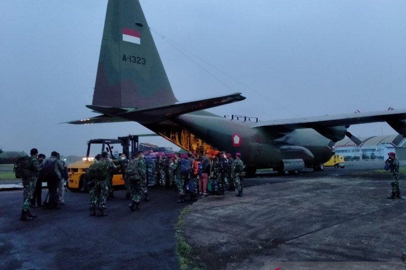 Korps Marinir TNI AL kirim pasukan bantu korban bencana di NTT